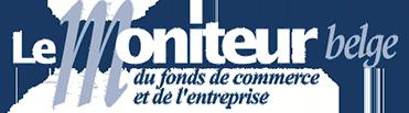 Logo Le Moniteur Belge du fonds de commerce et de l'entreprise