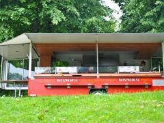 Ambulante catering pour 100 % des parts à reprendre à la Côte Flandre occidentale