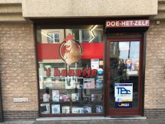Doe het zelf-winkel over te nemen gelegen regio Oostende-Blankenberge Oost-Vlaanderen