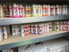 E-cigarettes + E-liquids + toebehoren over te nemen Locatie niet gespecificeerd