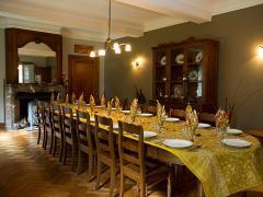 A vendre dans la région de Dinant maison de maître + grange aménagée en gite et chambres d'hôtes Province de Namur n°4