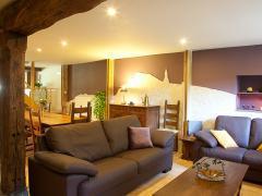 A vendre dans la région de Dinant maison de maître + grange aménagée en gite et chambres d'hôtes Province de Namur n°12
