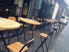 Pour 100 % des parts restaurant-bar à vins à reprendre à Liège Province de Liège