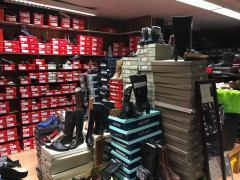 Pour 100 % des parts magazin de chaussures à reprendre dans le centre Hainaut n°3