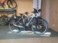 A reprendre dans la Campine de la province d'Anvers: Commerce de vélos spécialisé dans les vélos électriques, vélos et scooters essence et électriques Anvers